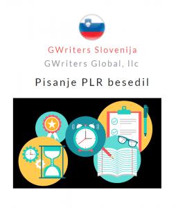 Oglas: GWriters Slovenija, pisanje PLR besedil